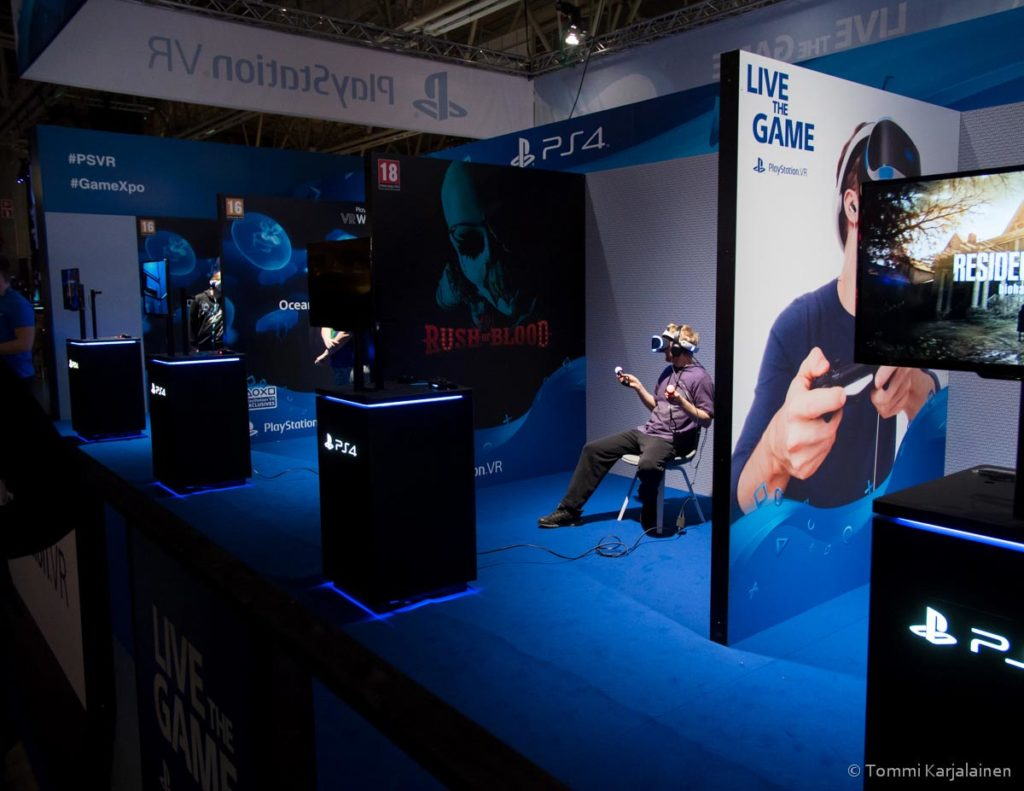 Playstation VR area